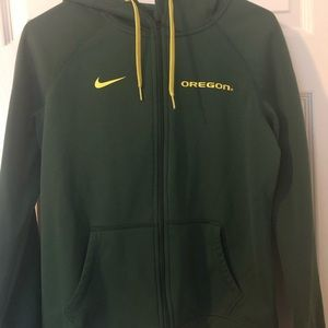 Women's Nike Oregon Ducks Jacket Size Medium